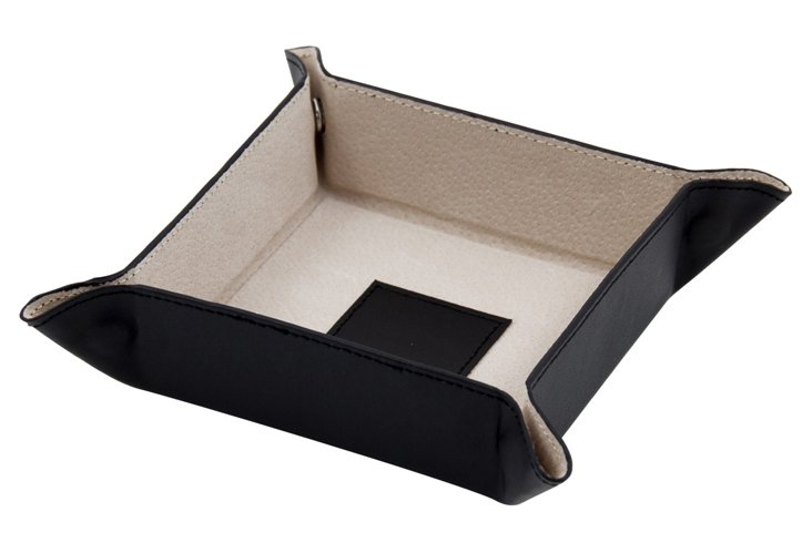 Black Snap Change Valet Tray  WAUCUST139881