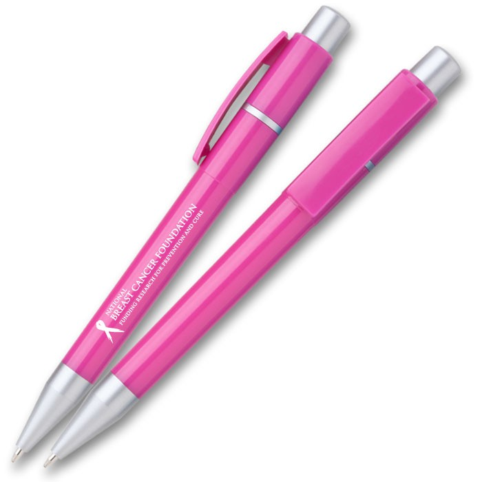 Breast Cancer Awareness Pen WAUCUSTPINK41