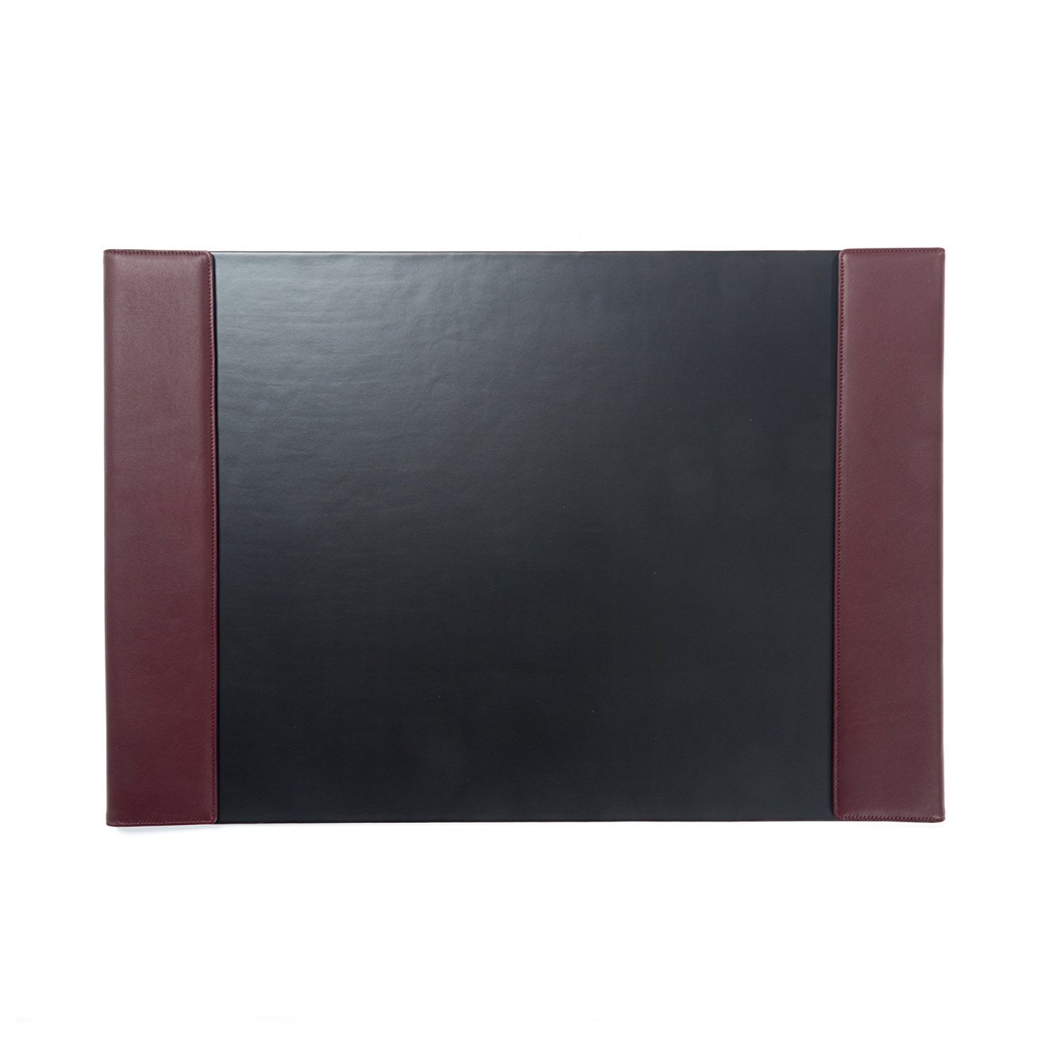 Burgundy Red Leather Desk Pad WAUCUST314