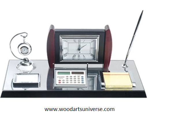 Desk Organizer With Calculator WAUSCBH08021