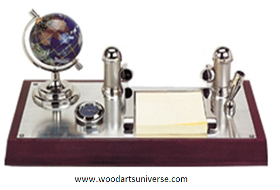 Desk Organizer With Business card holder WAUSCBH02930