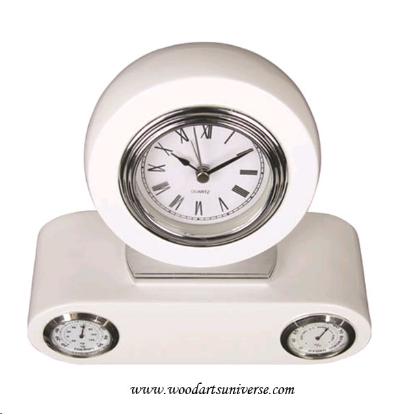Desk  Clock With Thermometer And Humidity WAUESCO14028002