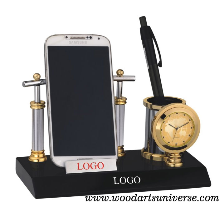 Desk Organizer With Cell Phone Holder WAUPCS36001