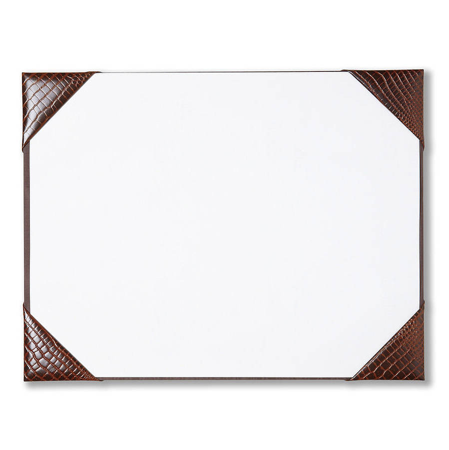 Leather Desk Blotter Pad  WAUCUST415B