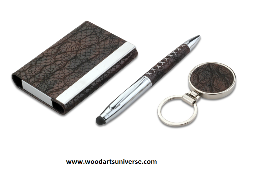 Leatherette Business Gift Set WAUBKC897