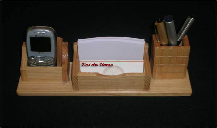 Desktop Organizer & Pen Holder