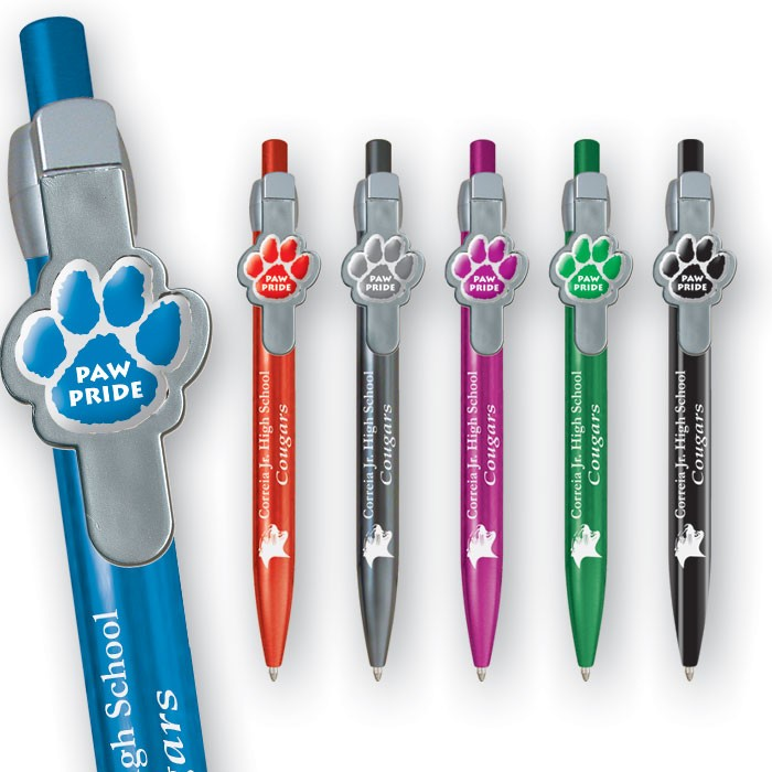 Paw-Power School  Pens WAUCUSTPAW203