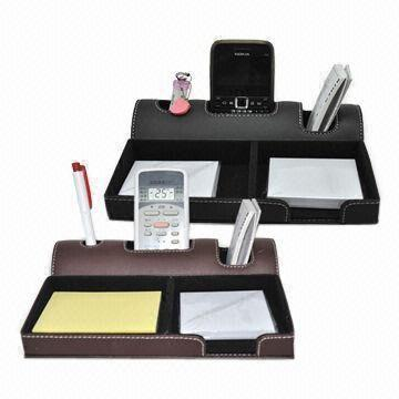 Leather Desk Organizer WAUCUST2045