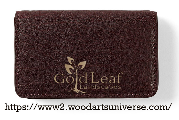 Brown Business Card Case WAUCUST2314
