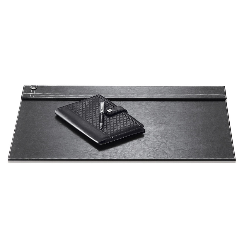 Black Leather Desk Pad WAUCUST20909
