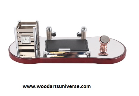 Desk Organizer with Cell Phone Holder - WAUES1690