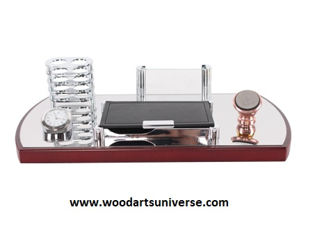 Desk Organizer with Cell Phone Holder - WAUES1692