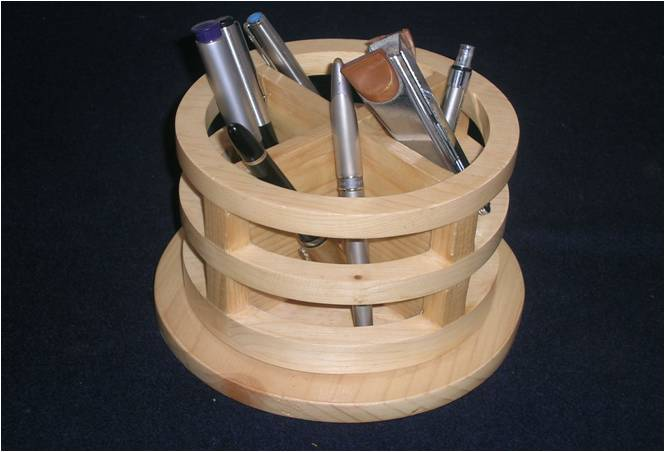 Revolving Desk Caddy